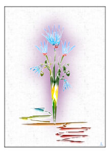 Лилия 216x300 - Как и где в интернете продать свои рисунки, иллюстрации и открытки. Пошаговая инструкция для начинающих