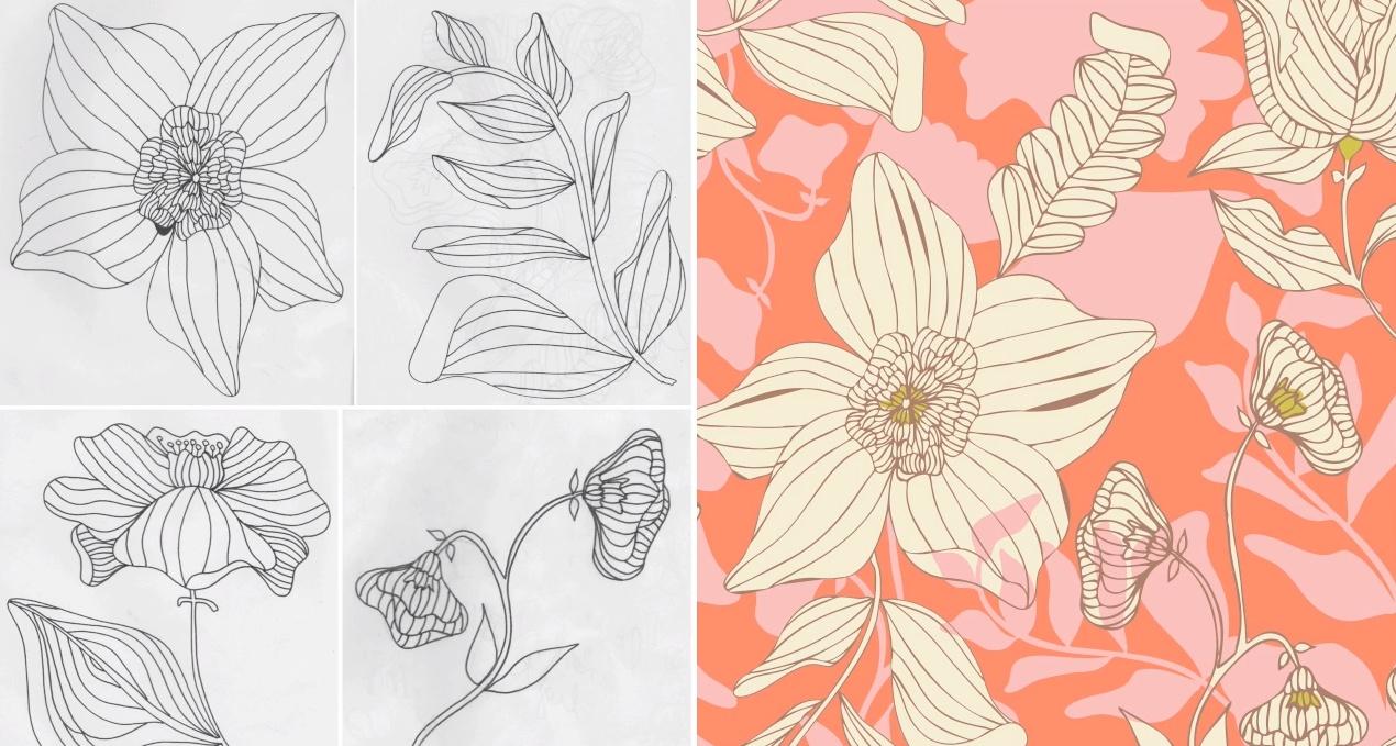 Уроки по созданию бесшовных паттернов и узоров в Иллюстраторе и Фотошопе. Как сделать узор паттерн