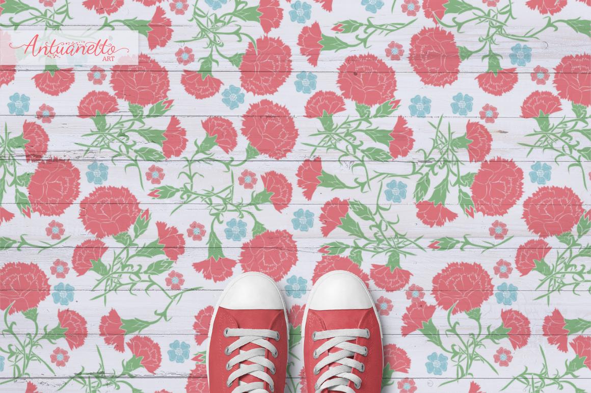 Большая подборка цветочных паттернов для вдохновения